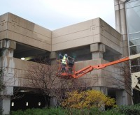 Duke Realty - Parking Garage Pressure Washing