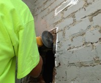 Historic Warehouse - Indiana - Masonry Brick Repair, brick replacement