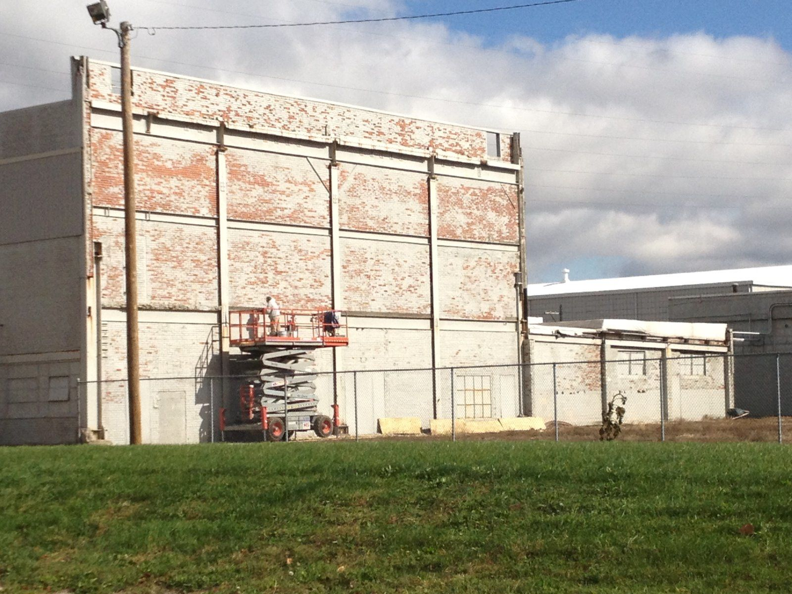 Historic, Warehouse - Indiana - Masonry Brick Replacement and Repair-tuck-point