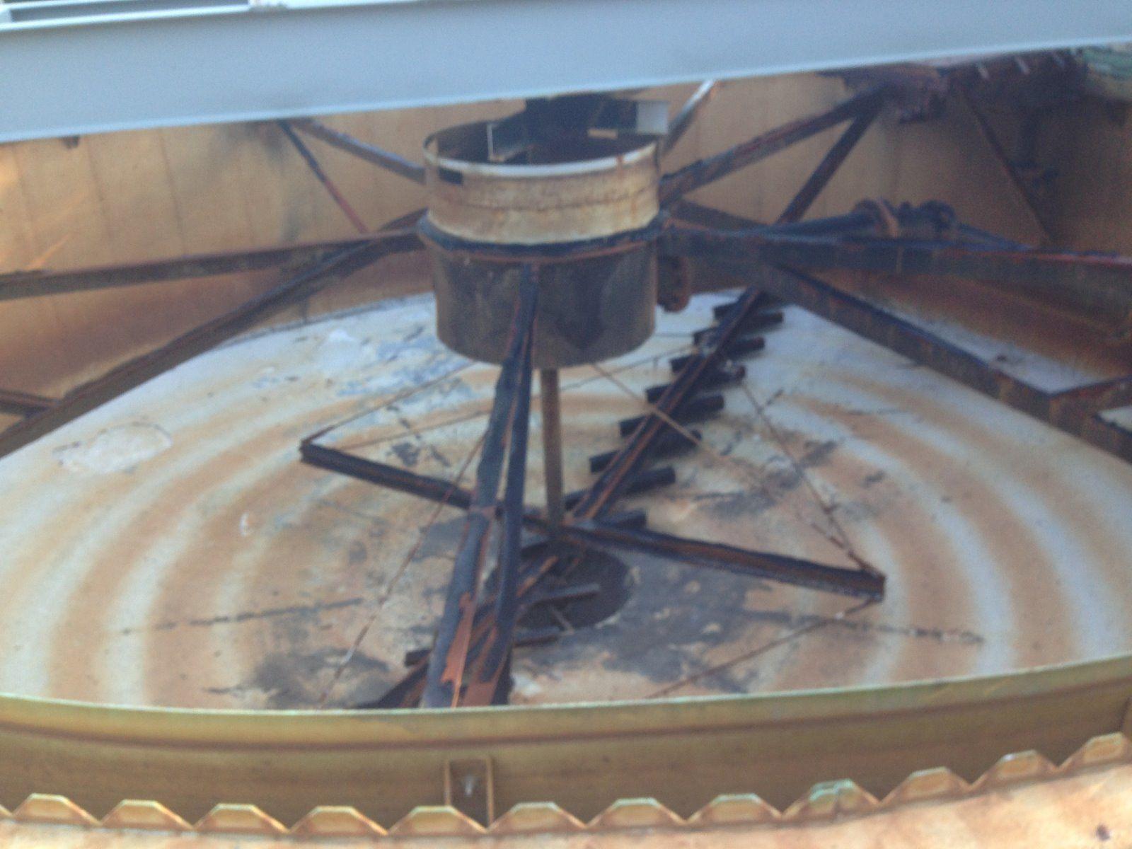 Waste Water Treatkment Tank -WWTP - Before