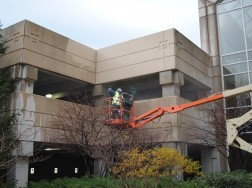 Duke Realty Parking Garage - Pressure Washing